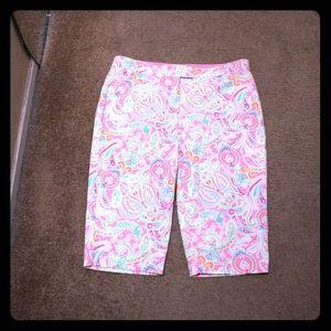 NWOT NY&CO Chino Capri pants never worn size 10